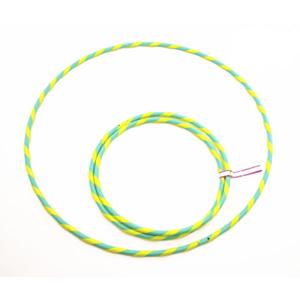 Hula Hoop 16 weiß grün, 86 cm Deko UV_small