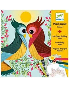 Basteln Papierkunst Vögel_tn