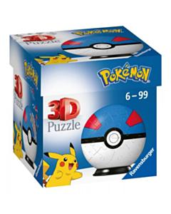 3D Puzzle Ball 54 Pokémon Great Ball_tn
