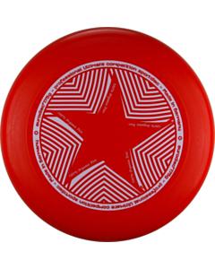 Frisbee 175g Eurodisc Star rot_small