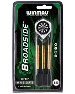 Darts Broadside Soft-tip 18gr.Brass Winmau_tn