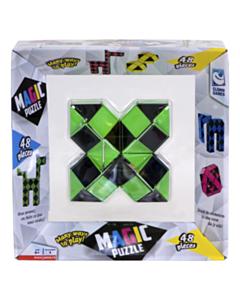 Clown Magic Puzzle grün 48 teile_small