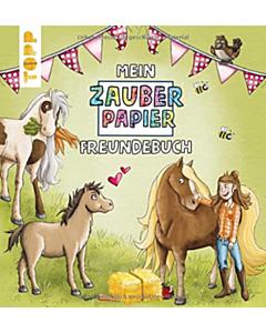 Mein Zauberpapier Freundebuch Pferde_small