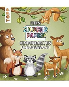 Mein Zauberpapier Kindergarten Freundebuch Wilde Waldtiere_small